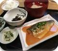 料理メニュー写真サバ味噌定食