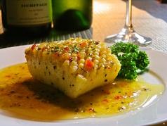 料理メニュー写真イカのステーキ イタリアンソースde