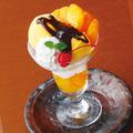 料理メニュー写真和歌山 温州みかんパフェ