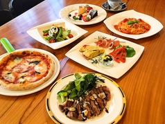 Italian Cafe Belnetta イタリアンカフェ ベルネッタのコース写真