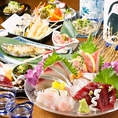 季節の野菜・魚を使用した贅沢なコース料理♪希少な日本酒も飲み放題なので、ついつい飲みすぎてしまう可能性大。コース2H希少な日本酒飲み放題付6500円!通常の飲み放題コースは5500円でご用意しております♪【柏 鍋 日本酒 飲み放題 焼酎】