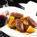 料理メニュー写真ハンガリー産鴨胸肉のアッロースト オレンジソース