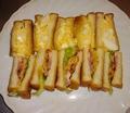 料理メニュー写真鴨肉の特別サンドとボリューミーな卵サンドとボリューミーな卵サンドウィッチ