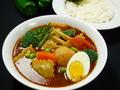 料理メニュー写真ラビオリとニョッキのスープカレー