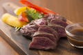 料理メニュー写真ブラックアンガス牛のロースステーキ