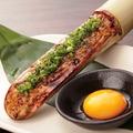 料理メニュー写真つくねの竹筒焼き/チーズチヂミ