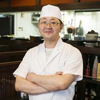 和食一筋の職人の技! 本格和食をお楽しみください。