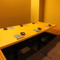 人数に合わせて座れる掘りごたつ個室!お席は混み合う場合もございますので、お早めのご予約をおすすめいたします。