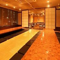 大井町駅近◎ 広々としたお席でお楽しみください♪