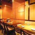 【宴会向けテーブル席】歓迎会や送別会、飲み会に…中規模宴会にも最適です◎