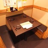 靴を脱ぐのに少し抵抗のある方には…ボックスタイプのテーブル席ございます◎