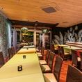 35名様までの小個室。20名様から貸切対応頂けます◎仲間同士の飲み会には最適な空間です。