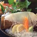 料理メニュー写真【おすすめ】隠岐の白いか(下足耳の天ぷら付き) 丸ごと一杯