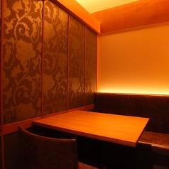 全席完全個室なので、プライベートでお食事・宴会を楽しみたいお客様におすすめです。席のみのご予約も承っております。