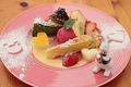 料理メニュー写真自家製デザートの盛り合わせ