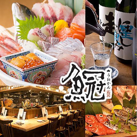 魚冠 -名駅 海鮮 個室 居酒屋-