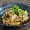 料理メニュー写真オリーブ豚生姜焼き