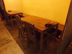 急な少人数宴会に◎のテーブル席
