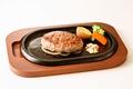 料理メニュー写真ハンバーグセット 桜セットD