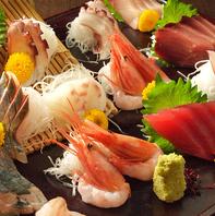 地産地消へのこだわり!石巻漁港直送の新鮮な魚介類。