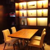 カラオケ付きの個室も完備!女子会や少人数でのご利用にもおすすめです。プライベートな空間でお食事をお楽しみください!
