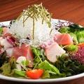 料理メニュー写真ななつぼし海鮮サラダ