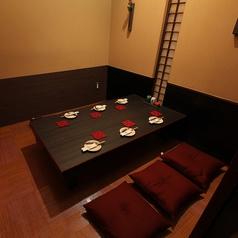 4~6名様のお席2つご用意いたしております。