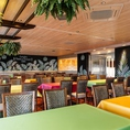最大120名様まで着席でご利用できる個室◎立食パーティーも利用可能な大型個室です◎大人数のご宴会や子ども会など様々な用途でお使いいただけます。