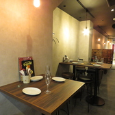 2名様テーブル多数ご用意してます♪デートにもぴったりです☆(栄/バル/チーズ/韓国/タピオカ)