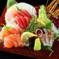 料理メニュー写真お好み鮮魚刺し3点盛り