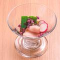 料理メニュー写真◆◇旬野菜と胸ハムのポン酢ジュレ◇◆