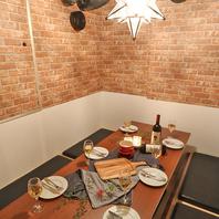 《完全個室肉バル》部屋ごとに異なるオシャレな個室♪