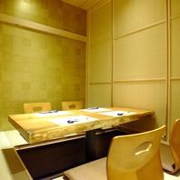 【個室多数完備】完全個室は3名様~多数ご用意。