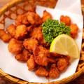 料理メニュー写真ササミチーズ春巻き / ニンニクの芽天ぷら/ナンコツの唐揚げ