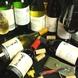 良質な国産ワインをソムリエが厳選して揃えてます