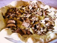 アンチョビとマッシュルームのピザ Lサイズ