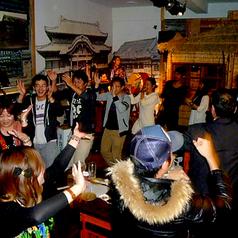 宴の最後は、沖縄伝統のカチャーシー★