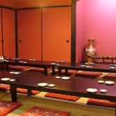 【松の間】【竹の間】1部屋に繋げて、最大40名様までのお部屋としてお使いいただけます◎(1Fの席です)
