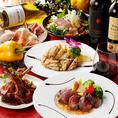 自慢の肉バルメニューを豊富にご用意しております。ローストビーフやイチボステーキ、ハラミ炙り焼きなど、自慢の肉料理をぜひ一度ご賞味ください。ワインとの相性も抜群◎!種類豊富なドリンクメニューをご用意しておりますので、お気に入りの組み合わせをお探しください。