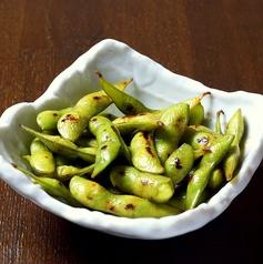 オリーブ焼き枝豆