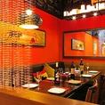 【肉バルTORO】西新宿の隠れ家スペイン肉バル店でございます。宴会コースは、幹事様からご好評です。大人気の隠れ家個室★少人数の宴会や、デートにもおススメ♪
