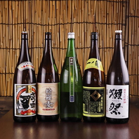こだわりの焼酎・日本酒などノンアルドリンクも充実★