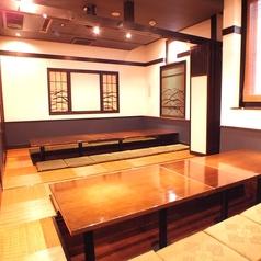 16名以上個室 【最大38名様】まで★なんと42名様でご利用されたお客様もいらっしゃる程の人気掘りごたつ個室