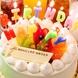 誕生日などには持込みケーキOK♪