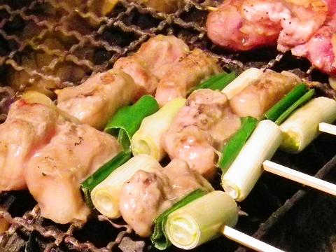 炭で焼く絶品の串たち