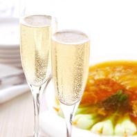 シチリアワインと本格中華を個室で堪能できるお店。