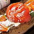 料理メニュー写真さっぱりとトマトスライス