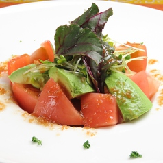 アボカドとフレッシュトマトのサラダ