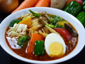 料理メニュー写真17種類の野菜のスープカレー