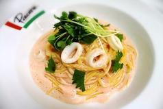 料理メニュー写真明太子のスパゲッティ